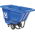 Tilt Truck Recycling Container 1/2 Cubic Yard