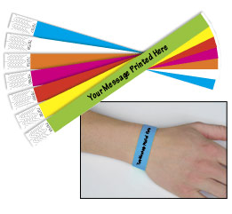 Custom Printed Tyvek Wristbands