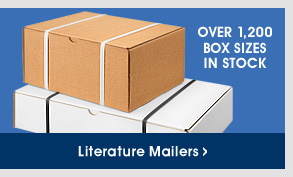 Uline - Over 1,200 Box Sizes in Stock - Literature Mailers