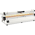 Extra Long Tabletop Poly Bag Sealer Impulse with Cutter