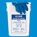 Nitrile Gloves In A Bucket