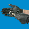 Uline Black Nitrile Gloves