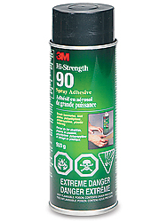 3m 90 spray adhesive instructions