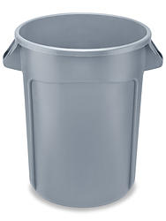 Rubbermaid<sup>®</sup> Round Brute<sup>®</sup> Container, 32 Gallon