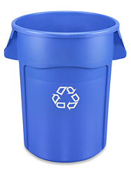 Rubbermaid<sup>®</sup> Brute<sup>®</sup> Recycling Container, 44 Gallon