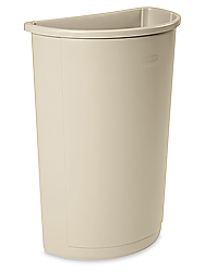 Rubbermaid<sup>®</sup> Half-Round Receptacle, 21 Gallon