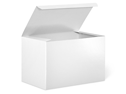 "9 x 6 x 6"" White Gloss Gift Boxes"