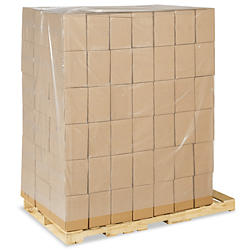 "58 x 46 x 96"" 4 Mil Clear Pallet Covers"