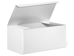 "9 x 5 x 4"" White Gloss Gift Boxes"