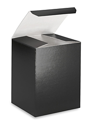 "3 x 3 x 4"" Black Gloss Gift Boxes"