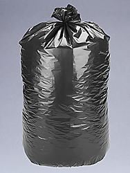 "24 x 33"" 12-16 Gallon 1.2 Mil Black Trash Liners"