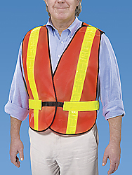 CSA Class 2 Orange Safety Vest