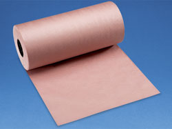 "34 lb. Red Butcher Paper Roll - 24"" x 1,050'"