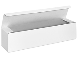 "12 x 3 x 3"" White Gloss Gift Boxes"