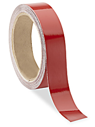 "1"" x 10 yards Red Reflective Tape"