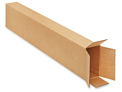 "8 x 4 x 46"" FOL Side Loading Corrugated Boxes - 200 lb. test"