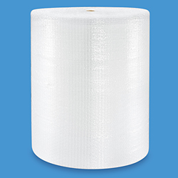 "5/16"" Bubble Wrap<sup>®</sup> Strong Bubble 48"" x 375' Roll - perforated every 12"""