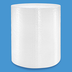"1/2"" Bubble Wrap<sup>®</sup> Strong Bubble 48"" x 250' Roll - perforated every 12"""
