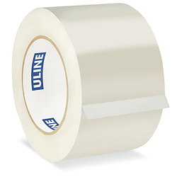 "3"" x 110 yards Clear 2.6 Mil Industrial Plus Tape"