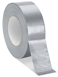 "2"" x 60 yards Silver Uline Economy Duct Tape"