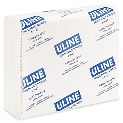 Multi-Fold Uline Deluxe Towels