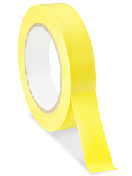 "1"" x 36 yards Yellow Industrial Vinyl Safety Tape"