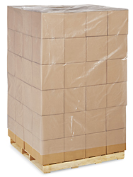 "51 x 49 x 97"" 4 Mil Clear Pallet Covers"