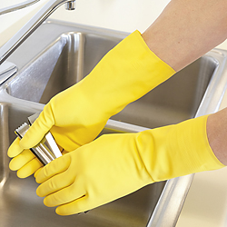 Latex Lined Chemical Resistant Gloves