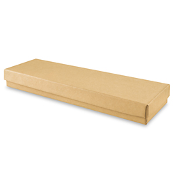 "8 x 2 x 7/8"" Kraft Jewelry Boxes"