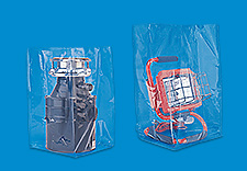 Uline Gusseted Poly Bags