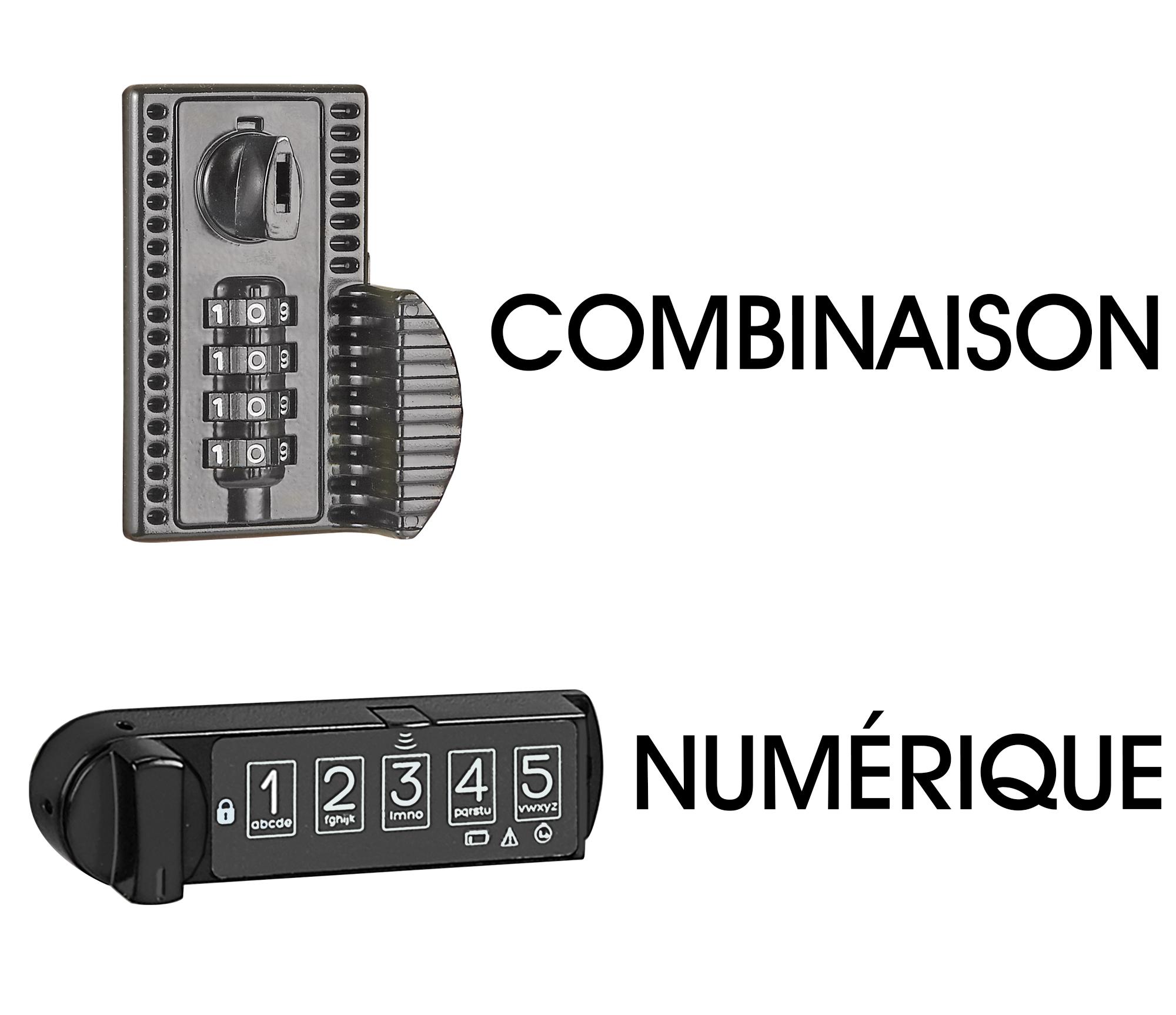 À combinaison et numérique