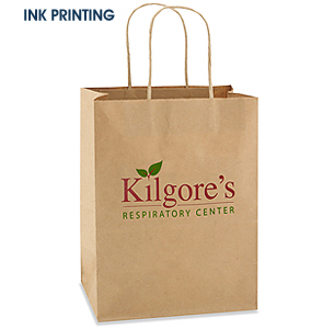 Custom Ink Printed Paper Bags