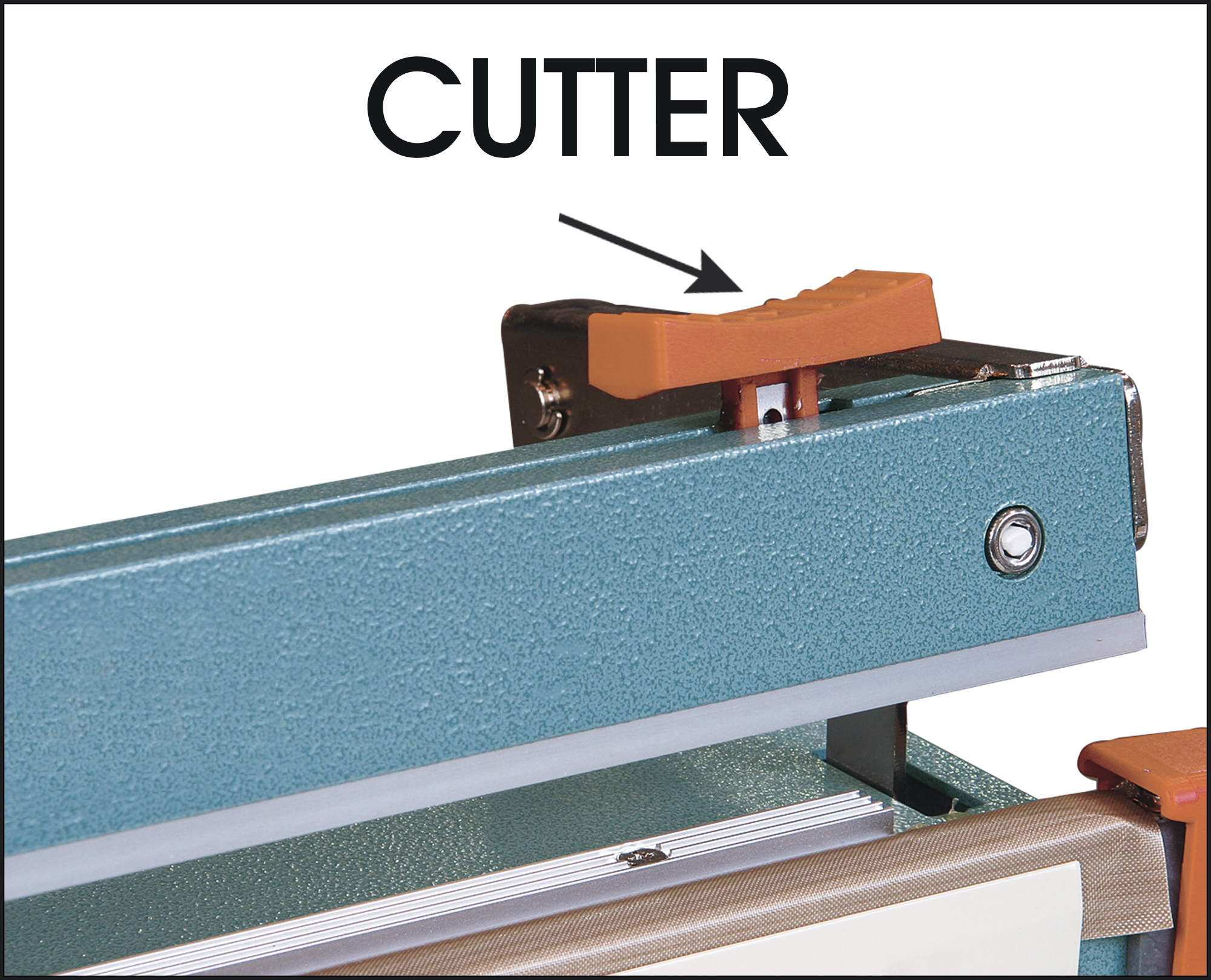 Poly Bag Sealer with Cutter