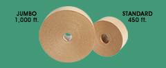 Jumbo and Standard rolls of Kraft Sealing Tape