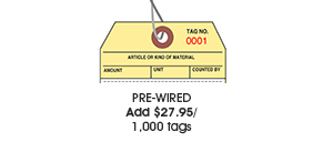 Prewired Tags