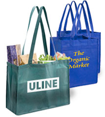 custom printed reusable shopping bags